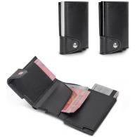 Portefeuille avec porte-cartes rfid