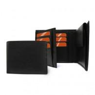 Portefeuille personnalisable avec porte monnaie en cuir