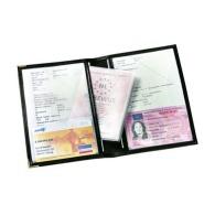 étuis et pochettes pour papiers d'identité personnalisé