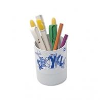 Pot à crayons avec marquage