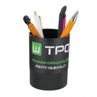 Pot à crayons personnalisable en plastique recyclé