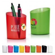 Pot a crayons personnalisable plastique