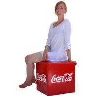 Pouf personnalisable cube 40cm