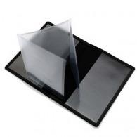 Porte carte grise en cuir
