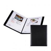 Porte menu logoté a4 pour 16 pages