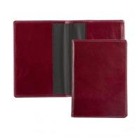 Pochette de passeport en cuir