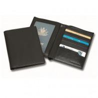 Funda de cuero para el pasaporte