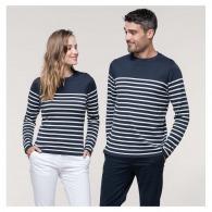Pulls marins avec logo