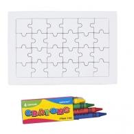 Puzzle à colorier logoté