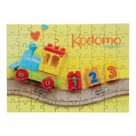 Puzzle personnalisé a5 rectangle 80 pcs