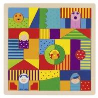 Puzzle en bois publicitaire enfant