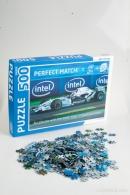 Puzzle logoté en boîte de 300 à 500 pièces