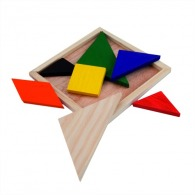 Puzzle tangram publicitaires
