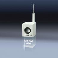 Radio lumineuse gravure laser