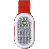 Réflecteur en plastique avec LEDS blanche et rouge