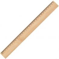 Règle logotée 30cm en bambou