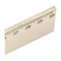 Régle 30cm en bois