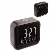 Réveil personnalisé avec thermomètre reflects-antibes