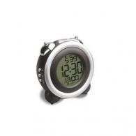 El despertador refleja-zapala negro plateado