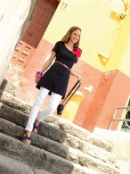 Tee-shirt robe ou tee-shirt tunique publicitaire