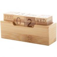 Calendrier perpétuel en bambou