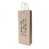 Sacs en papier recyclé publicitaire