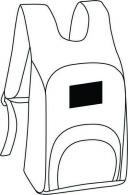 Sacs à dos pique-nique avec marquage