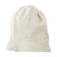 Bolsa de red de algodón orgánico 30x30cm