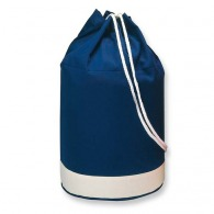 Two-tone cotton sailor bag
