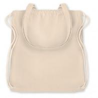 Sac shopping personnalisable à cordelette / sac à dos coton