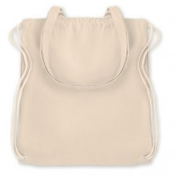 Shopping bag with drawstring / cotton backpack