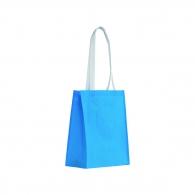Sac shopping anses contrastées 28x35cm