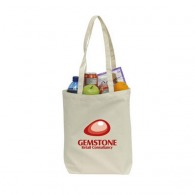 Sac shopping publicitaire canvas anses longues
