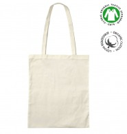 Sac shopping personnalisé en coton bio - tote bag naturel