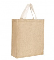 Sac shopping en jute 35x40x15cm