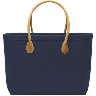 Sac shopping feutrine