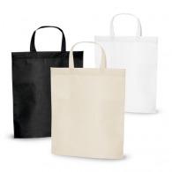Sac shopping personnalisable non-tissé 1er prix anses courtes