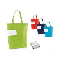 Sac shopping pliable intissé
