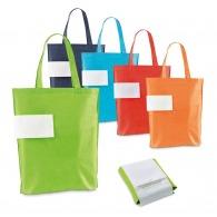 Sac shopping personnalisable pliable intissé