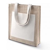 Sac Shopping personnalisable Toile De Jute Kimood