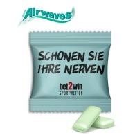 Sachet double airwaves chewing-gum publicitaire
