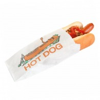 Sachet hot dog 7x18cm (le mille)