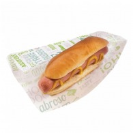 Sachet ouvert hot dog 9x22cm (le mille)