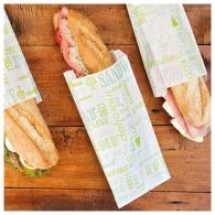 Sachets sandwichs en papier avec personnalisation