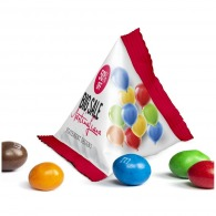 Sachet triangle m&m's