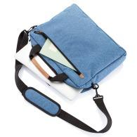 Sacoche à ordinateur portable double ton Fashion sans PVC