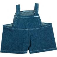 Salopette en jean pour peluche.