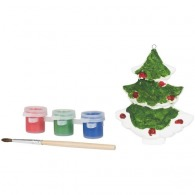 Sapin de Noël à peindre