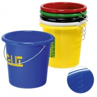 Seau en plastique personnalisable 10l