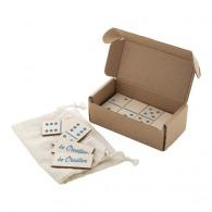 Set de dominos logotés en bois
